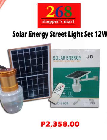 Solar Energy Street Light Set 12W