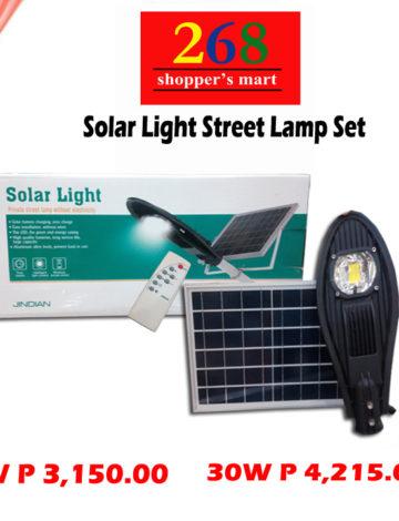 Solar Light Street Lamp Set 20W/30W