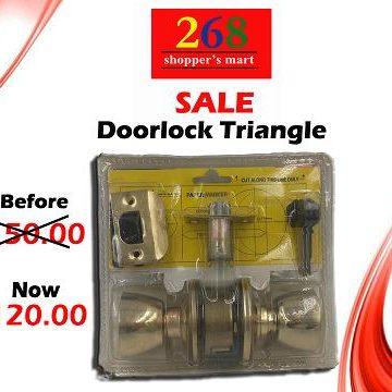 Sale-Doorknob Triangle