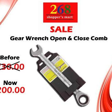 Sale-Gear Wrench Open&Close