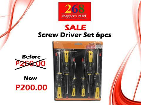 Sale-Screw Driver Set 6pcs